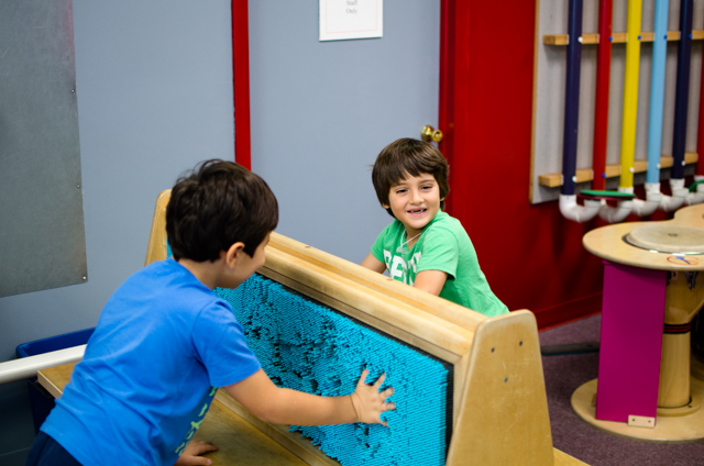 Kids enjoying Engineer It!