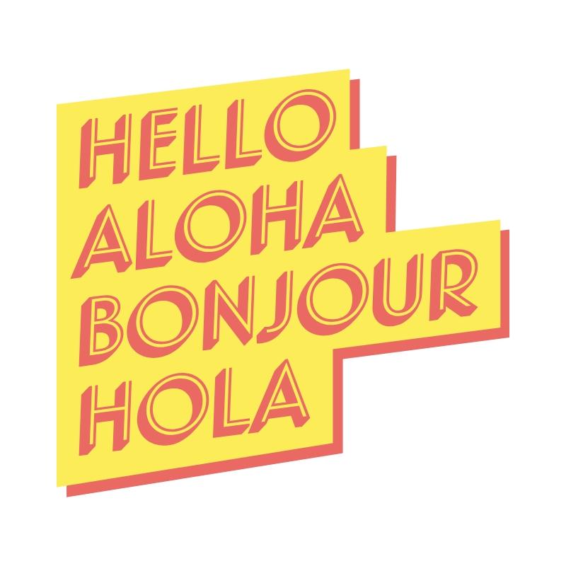 World Hello Day: World Hello Day Craft